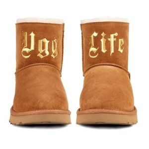 Jeremy Scott x UGG Ugg Life Short Booties